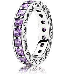 anel brilho da floresta lilás