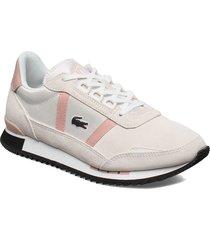 partner retro1201sfa låga sneakers vit lacoste shoes