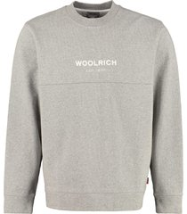 woolrich cotton crew-neck sweatshirt