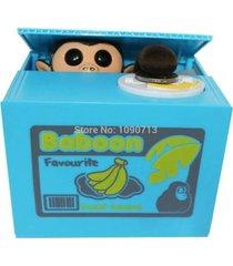 alcancía electrónica panda mono monedas con sonidos