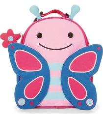 lancheira zoo borboleta skip hop rosa - kanui