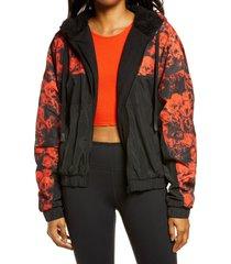 women's alo roses duality full zip hoodie