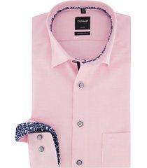 olmyp overhemd roze luxor modern fit