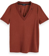 maison scotch t-shirt 157062