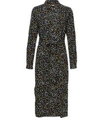 flora ls long shirt jurk knielengte multi/patroon soft rebels