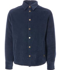 lois jeans quilted cortina cord jacket - marino 1078