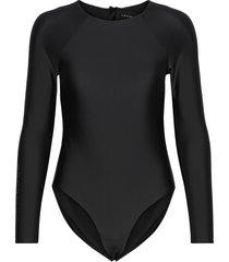 surf swimsuit baddräkt badkläder svart röhnisch