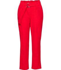 pantaloni con cintura (rosso) - bodyflirt