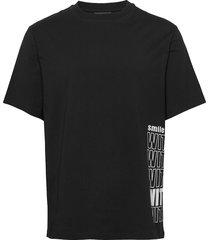 michael-distinct cotton t-shirts short-sleeved svart j. lindeberg