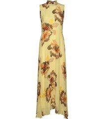 dagnyiw dress maxi dress galajurk geel inwear