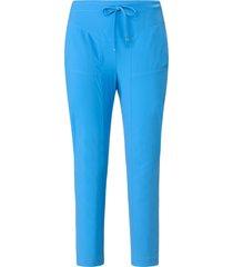 broek in jogg-pant-stijl model gira van raffaello rossi blauw