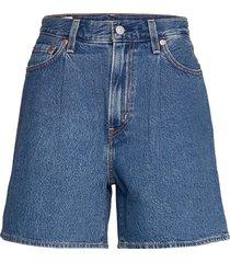 pleated ribcage short now and shorts denim shorts blå levi´s women