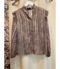 chastar 2264 blouse print/goud