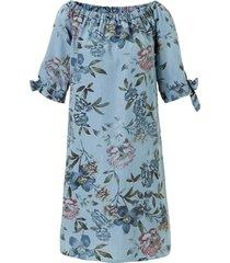 geisha top lichtblauw