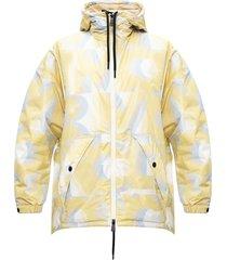 blavy patterned down jacket