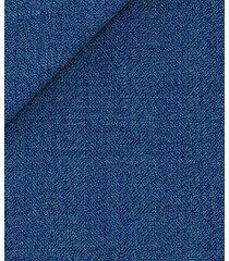 pantaloni da uomo su misura, vitale barberis canonico, blu 120's melange, quattro stagioni | lanieri