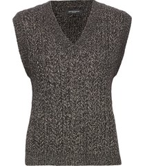 linne chio vest vests knitted vests grijs bruuns bazaar