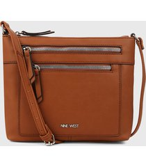 bolso camel nine west
