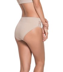panty bikini beige leonisa 012933