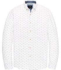 overhemd vanguard wit blauw patroon