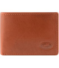 mancini manchester collection men's rfid secure slim wallet