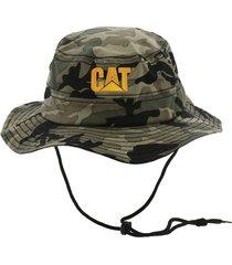 gorro hombre trademark safari cap verde cat