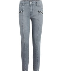 joe's jeans women's charlie high-rise moto ankle skinny jeans - sweet thin - size 32 (10-12)
