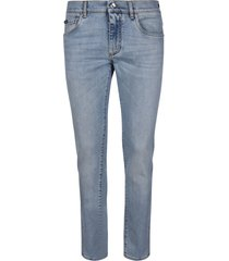 dolce & gabbana fitted jeans