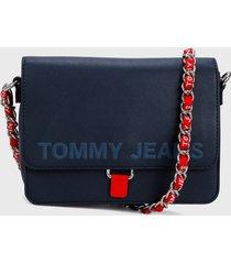 bolso azul navy-rojo tommy jeans