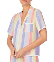 women's room service print pajama top, size xx-large - white (nordstrom exclusive)