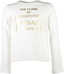 """the clans of versace"" logo detail t-shirt"