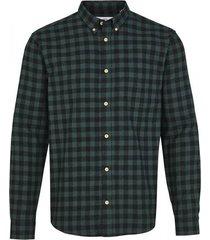 overhemd johan flanel mel.check ks3212