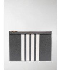 thom browne 4-bar clutch bag