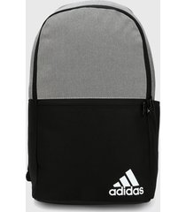 maletín negro-gris adidas performance daily ii