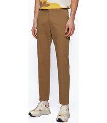boss men's slim-fit cargo pants