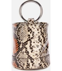 simon miller women's bonsai 15 bucket bag - snake