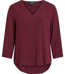 blouse 3/4-mouw
