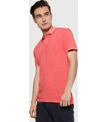 polo coral pepe jeans
