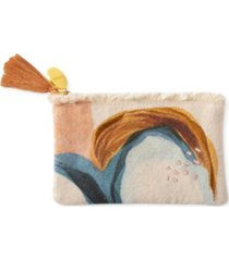 fringe studio mhn abstract coin pouch