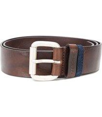 diesel denim-loop belt - brown