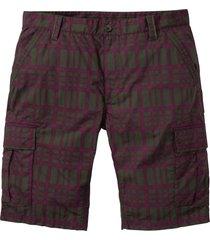 bermuda cargo loose fit (verde) - bpc bonprix collection