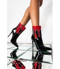 akira azalea wang follow my footsteps stiletto bootie in black