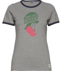 songve tee t-shirts & tops short-sleeved grå kari traa