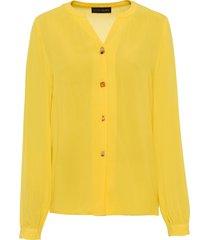 camicia con bottoni fantasia (giallo) - bodyflirt