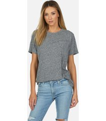 sef core vintage tee - heather grey l