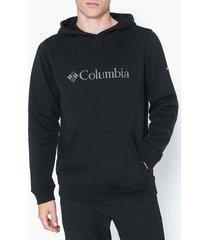 columbia basic logo hoodie tröjor black