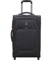 "delsey optimax lite 21"" expandable 2-wheel carry-on suitcase, created for macy's"