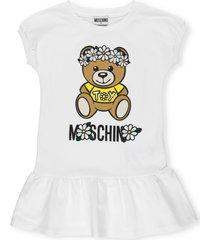 moschino daisy teddy bear dress