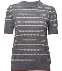 pullover t-shirts & tops knitted t-shirts/tops blauw noa noa