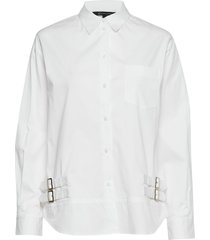 ax woman shirt overhemd met lange mouwen wit armani exchange